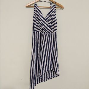 NWT Isabella Rose Ships Ahoy Striped Coverup Dress
